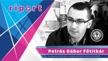 Embedded thumbnail for Riportfilm Petrás Gáborral a Dunaújvárosi Labdarúgó Szövetség Főtitkárával