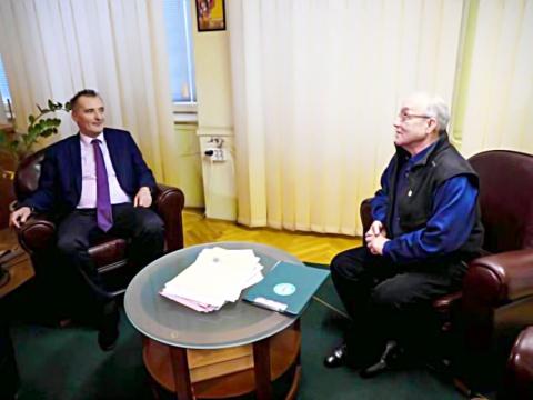 Cserna Gábor és Kalácska András