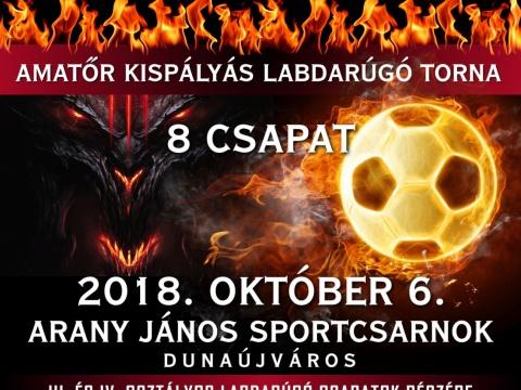 Pálya Ördögei - II. Diablo Amatőr Kispályás Labdarúgó Torna
