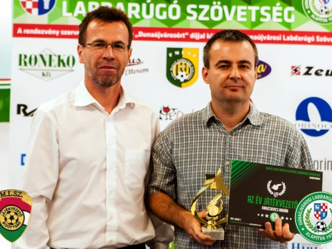 Év játékvezetője: Krajcsovics Adrián