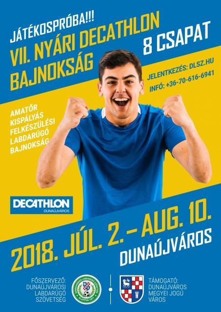 VII. Decathlon Nyári Kispályás Foci Dunaújvárosban