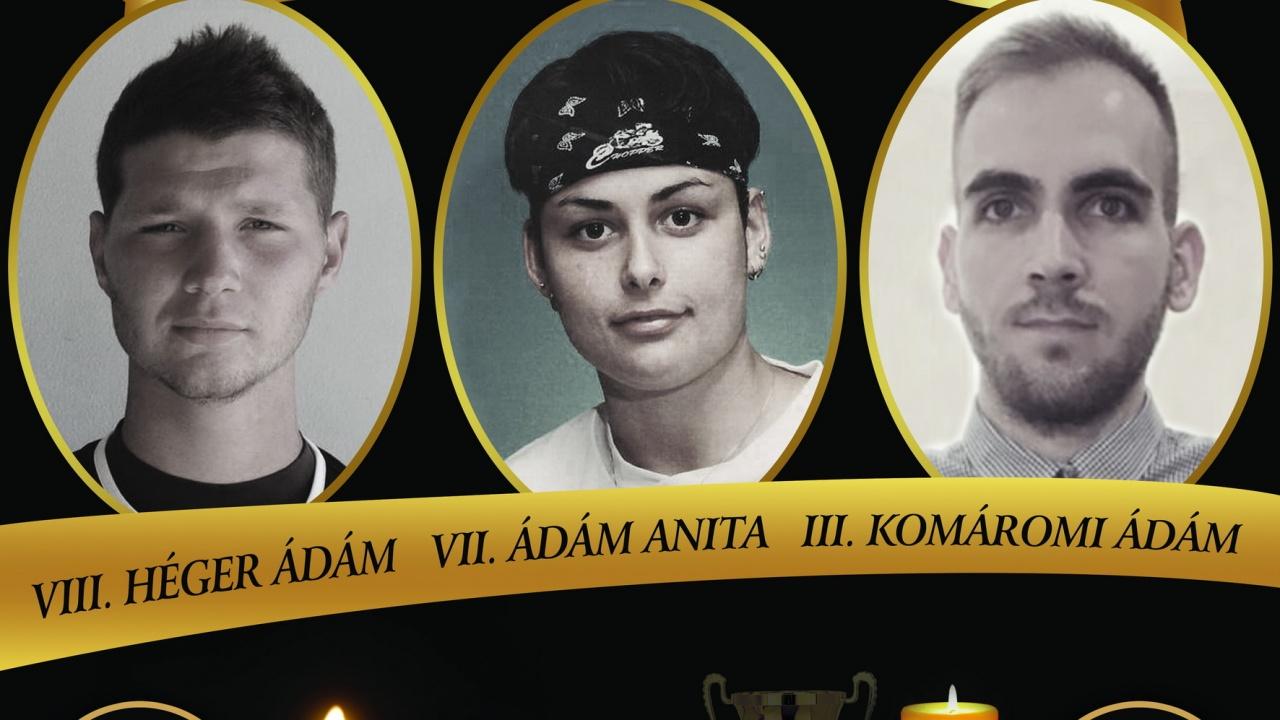 VII. Ádám Anita, VIII. Héger Ádám és III. Komáromi Ádám Emléktorna