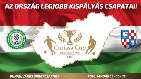 Embedded thumbnail for XIV. Carissa Kispályás Labdarúgó Kupa 2016