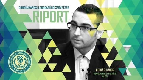 Embedded thumbnail for Átadták a Dunaújváros Sportjáért Díjat