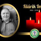 Elhunyt Klárik Imre, a DLSZ fegyelmi bizottságának tagja