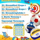 I. Szent István XI. Strandfoci Kupa Dunaújváros